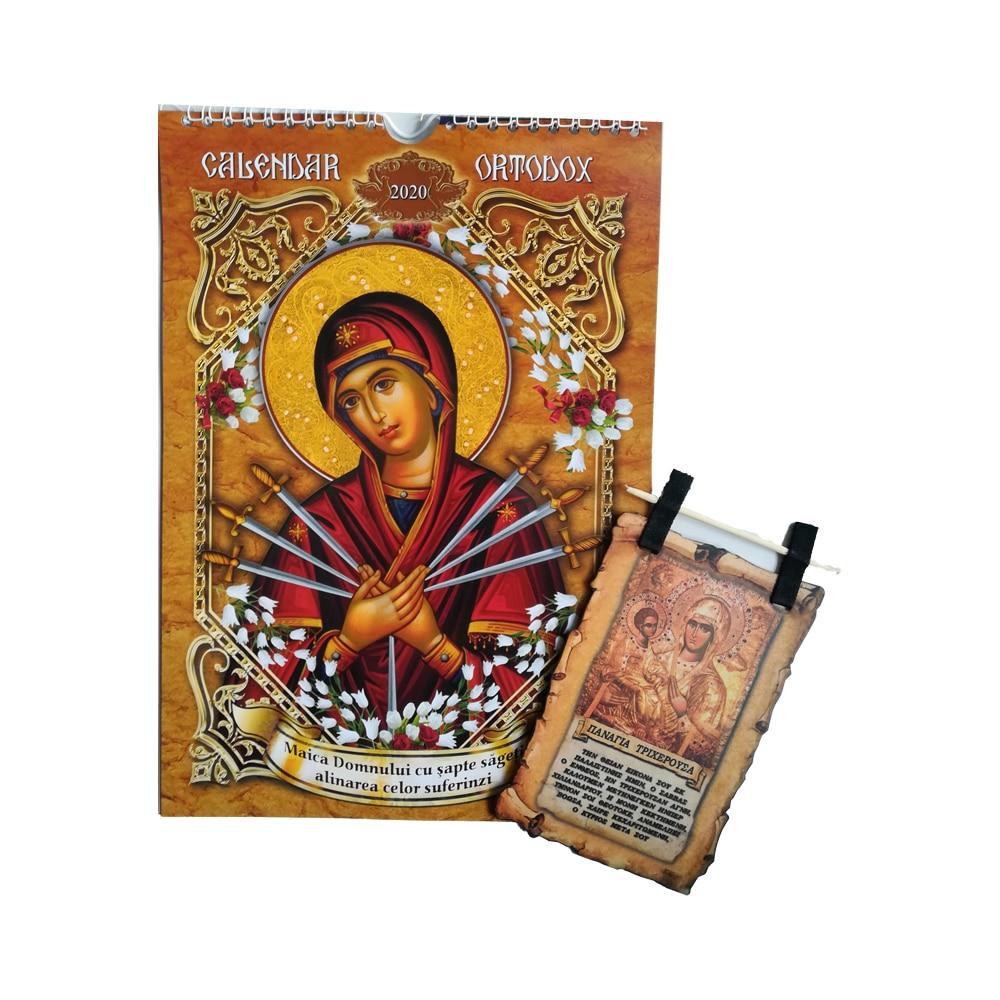Calendar de perete crestin ortodox 2020, format A4 ...