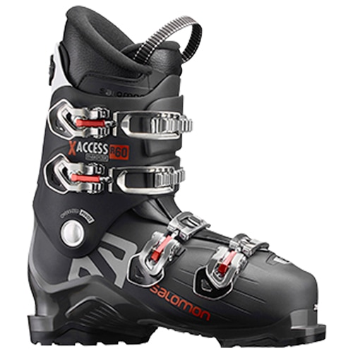 Fotografie Clapari Salomon X Access R60 Alpine, Black-Anthracite/Red, 24.5cm