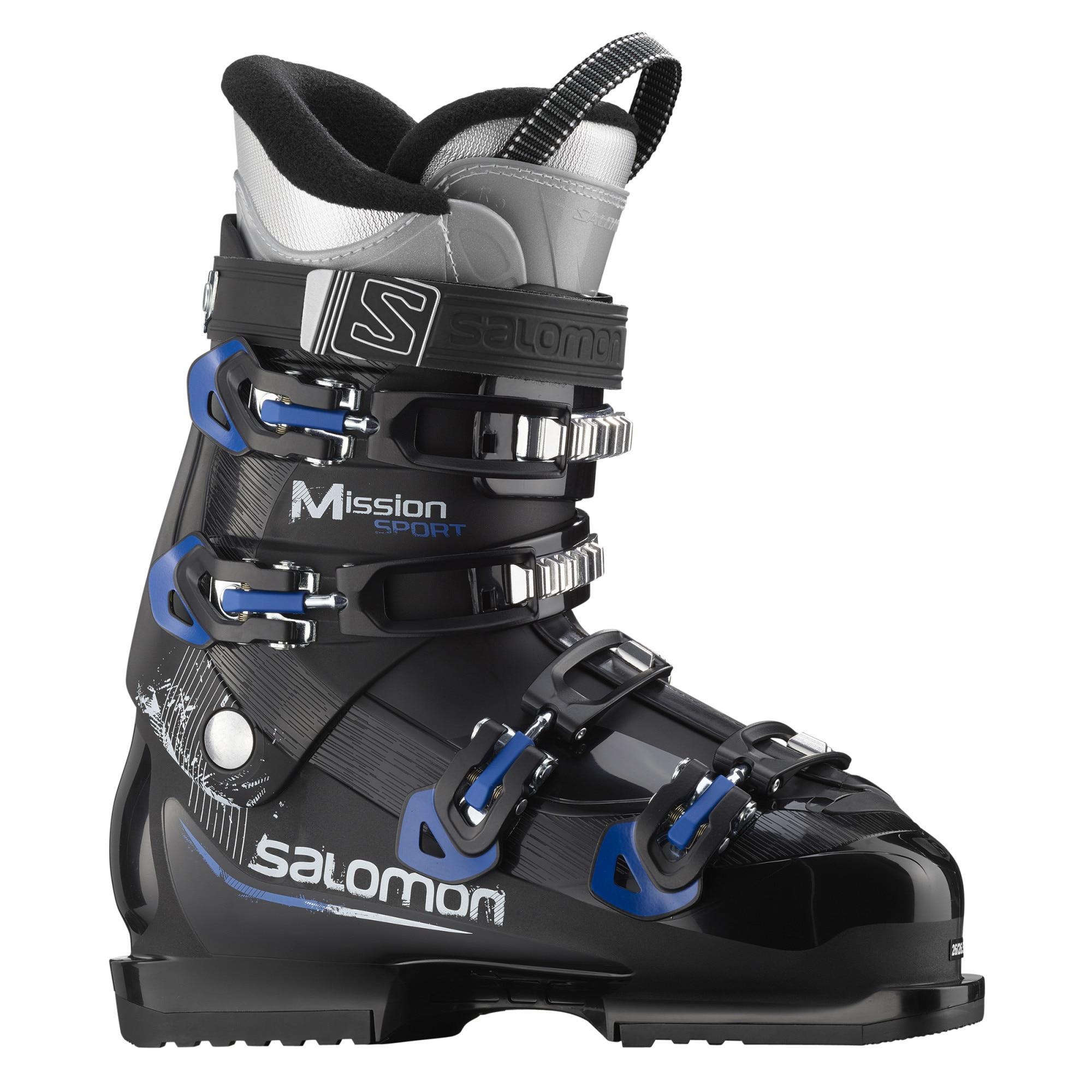 Fotografie Clapari Salomon Mission Sport Alpine, Black-Race Blue, Negru/Albastru, 28, 28.5