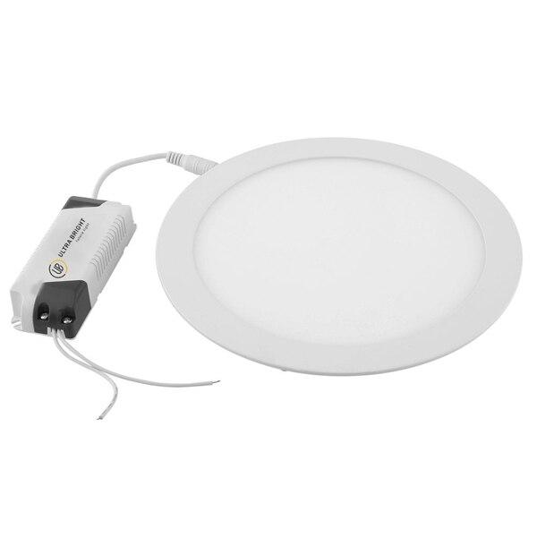 Fotografie Spot LED Ultra Brigh, 24W, 6400K, incastrabil, Rotund, Alb