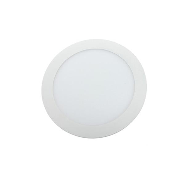 Fotografie Spot LED, Ultra Bright, 9W, 4200K, lumina neutra, incastrabil, rotund, alb