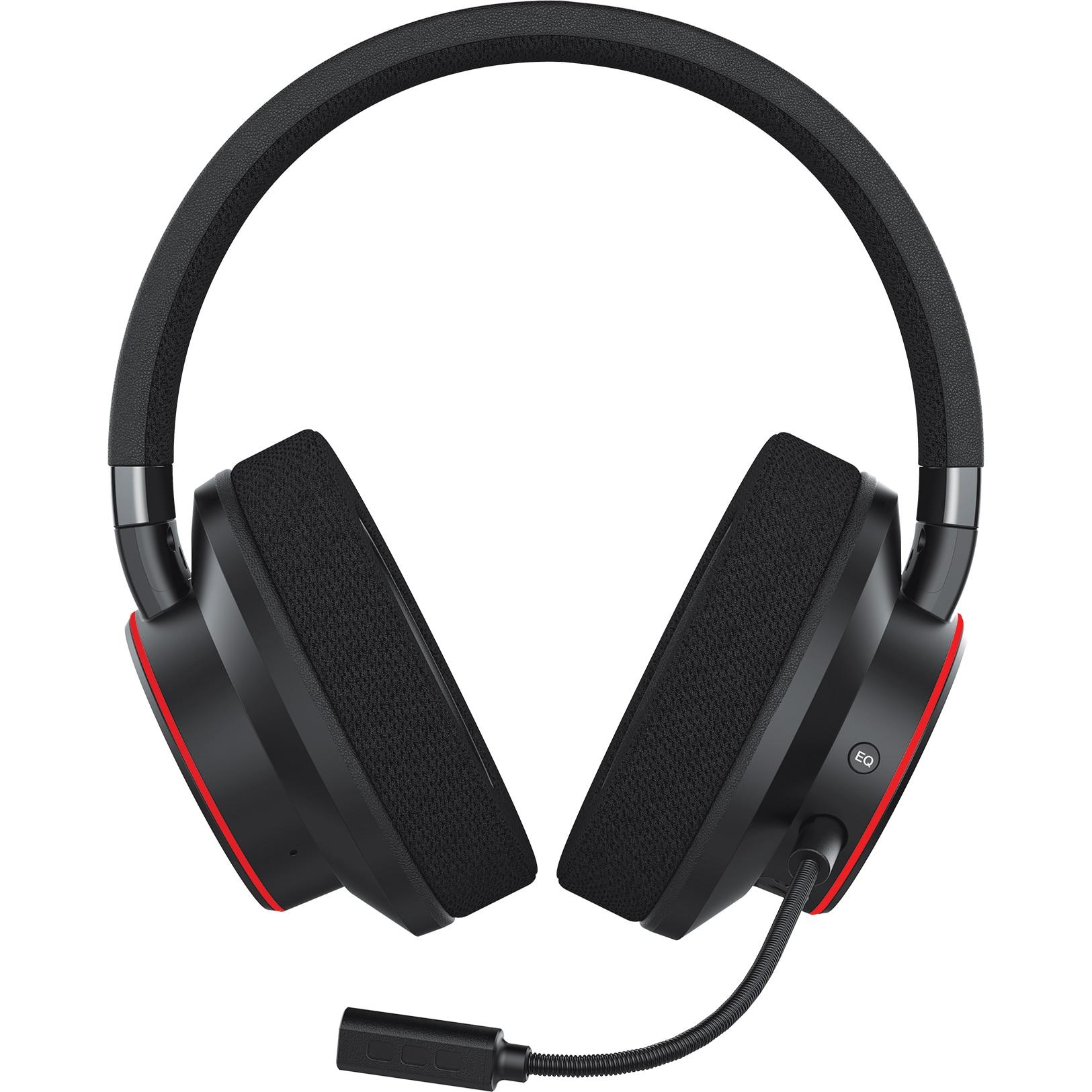Fotografie Casti Creative Sound BlasterX H6, USB 7.1 Virtual Surround Sound, Aurora Reactive RGB, pentru PS4, Xbox One, Nintendo Switch, PC