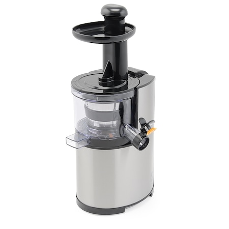 Storcator de fructe cu melc Star-Light SJ-200, 200 W, Recipient suc 0.8 l, Recipient pulpa 0.8 l, Functie Reverse, Inox/Negru