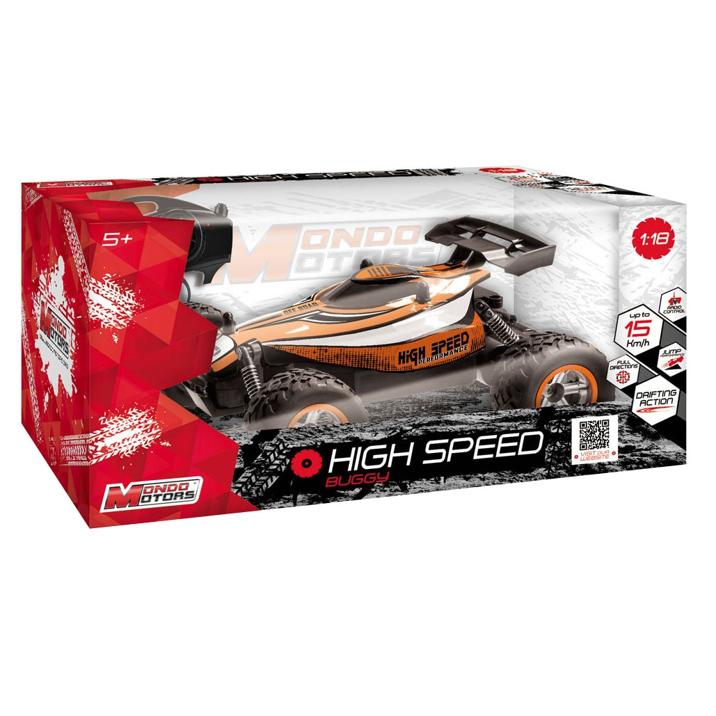 Fotografie Masinuta Mondo Motors RC, High Speedy 1:18