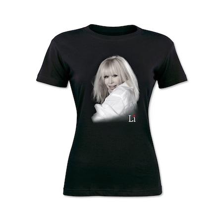 Тениска LI Лили Иванова, Черен, S
