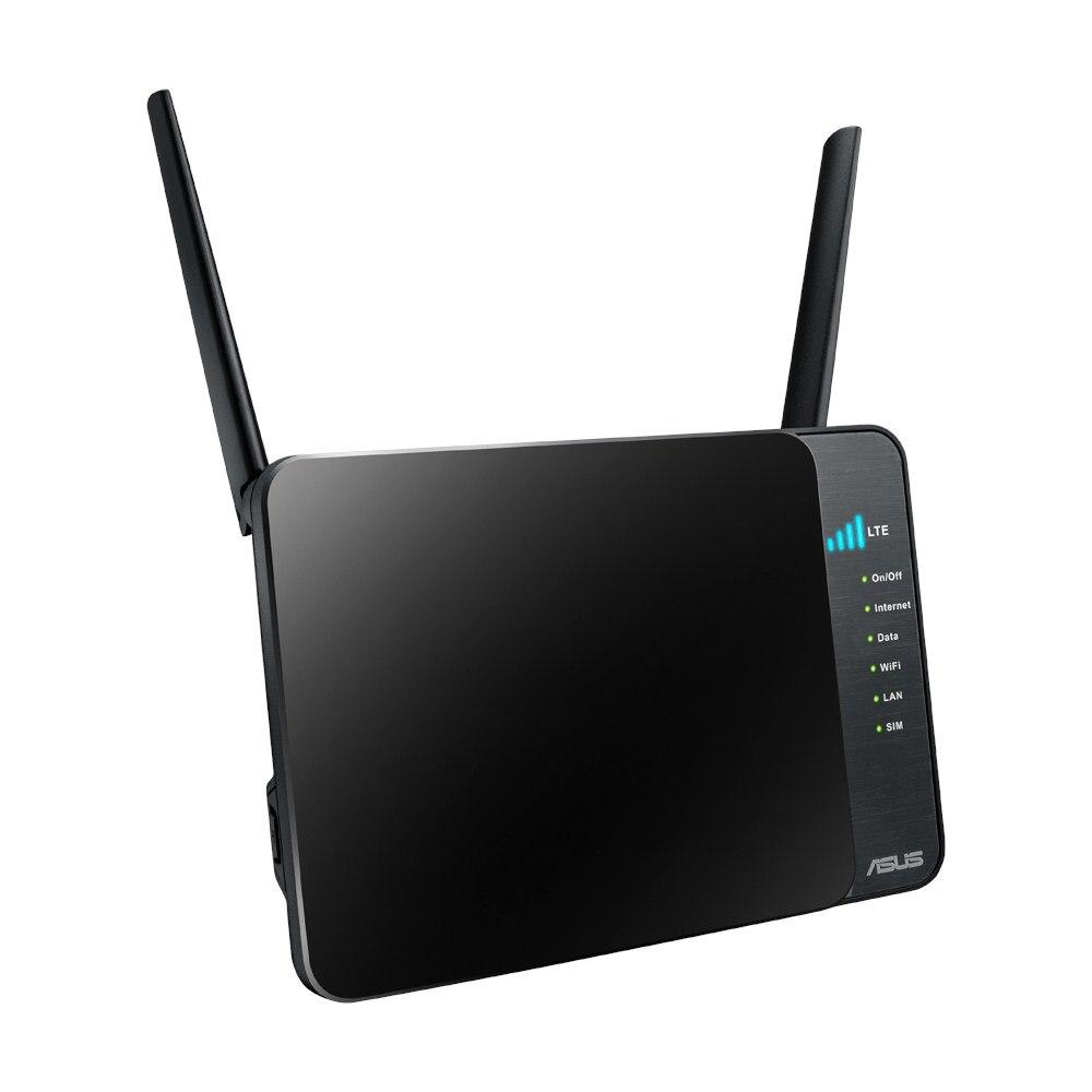 Fotografie Router wireless ASUS 4G-N12, N300 LTE, Sim