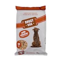 Hrana uscata pentru caini Doggy Dog, Adult, cu Pui, 10 kg