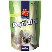 Hrana pentru broaste testoase si pisici EXO Pesti Albi 400ml