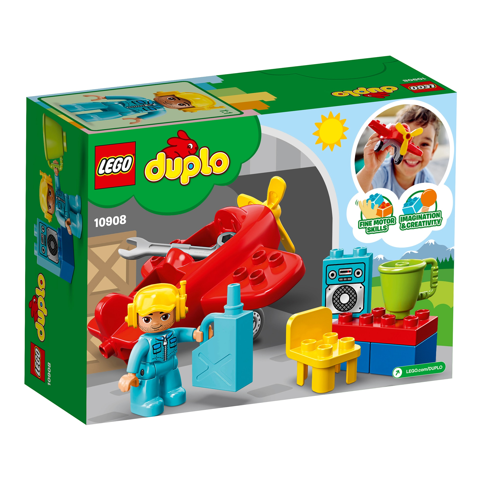 LEGO® DUPLO® 10908 Repülőgép X5NlXZ