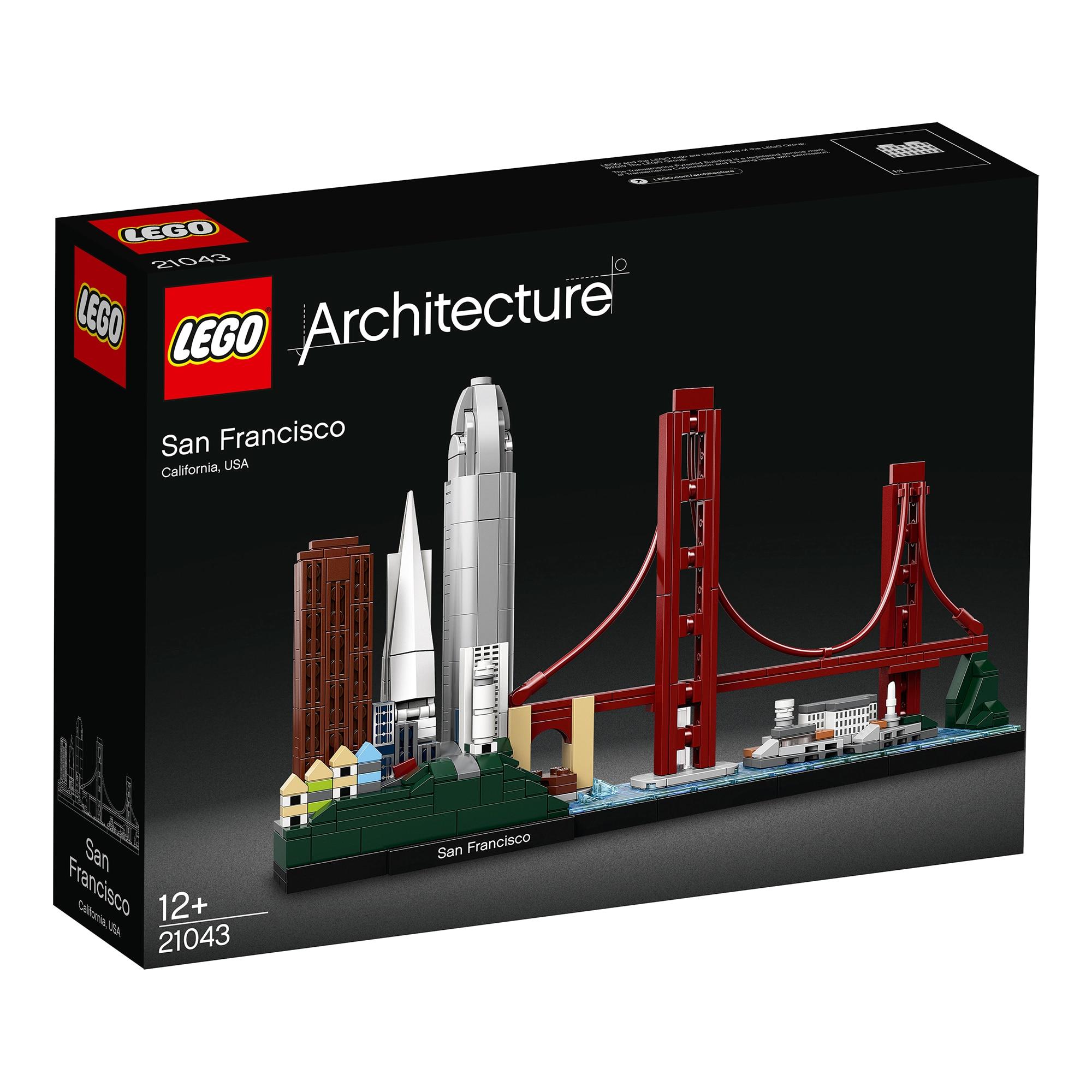Fotografie LEGO Architecture - San Francisco 21043, 565 piese