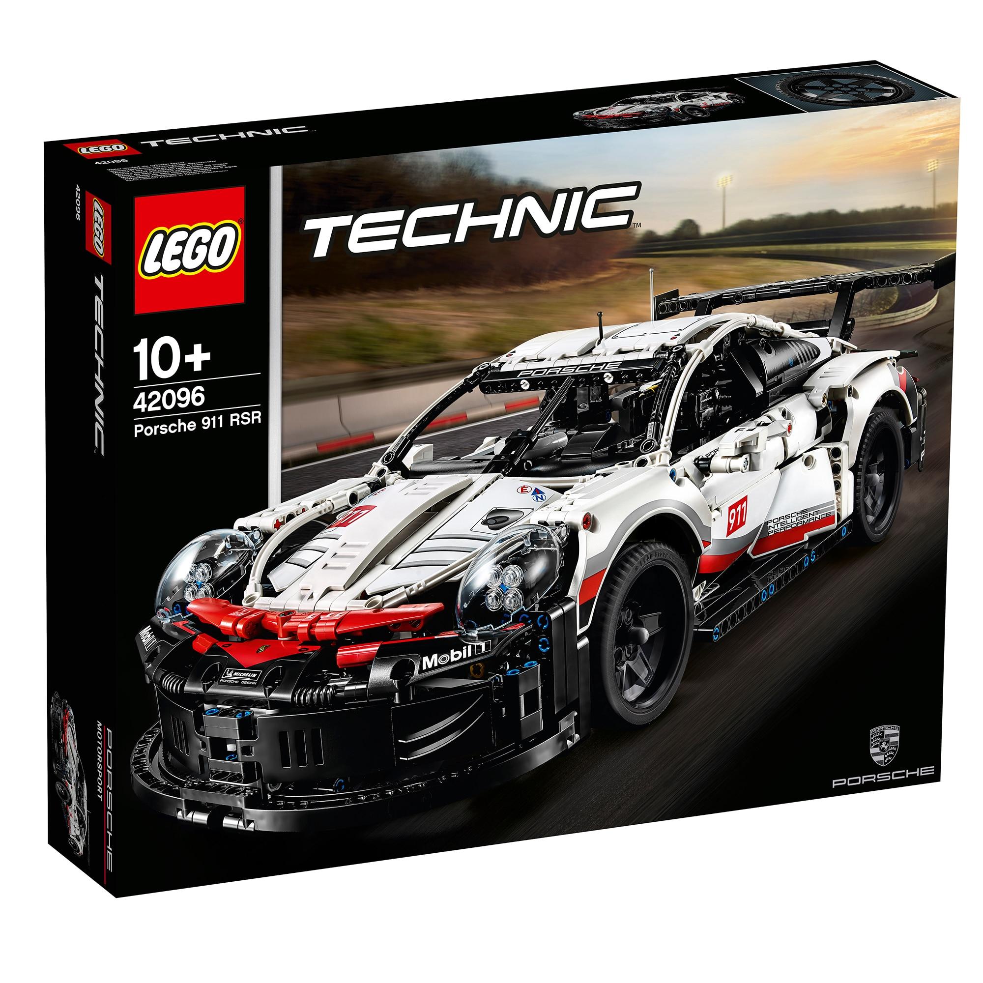 Fotografie LEGO Technic - Porsche 911 RSR 42096