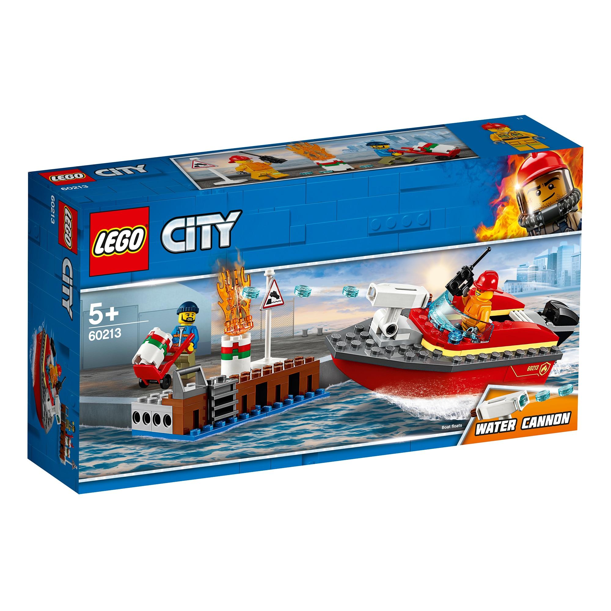 Fotografie LEGO City Fire - Incendiul de la docuri 60213