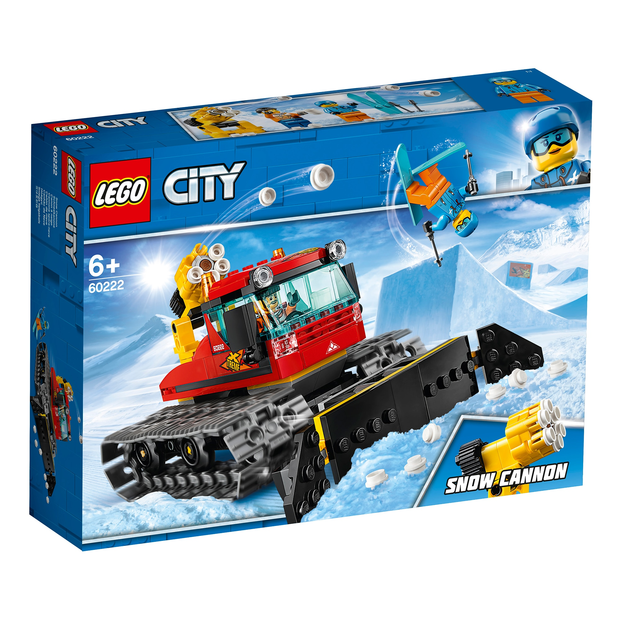 Fotografie LEGO City Great Vehicles - Compactor de zapada 60222