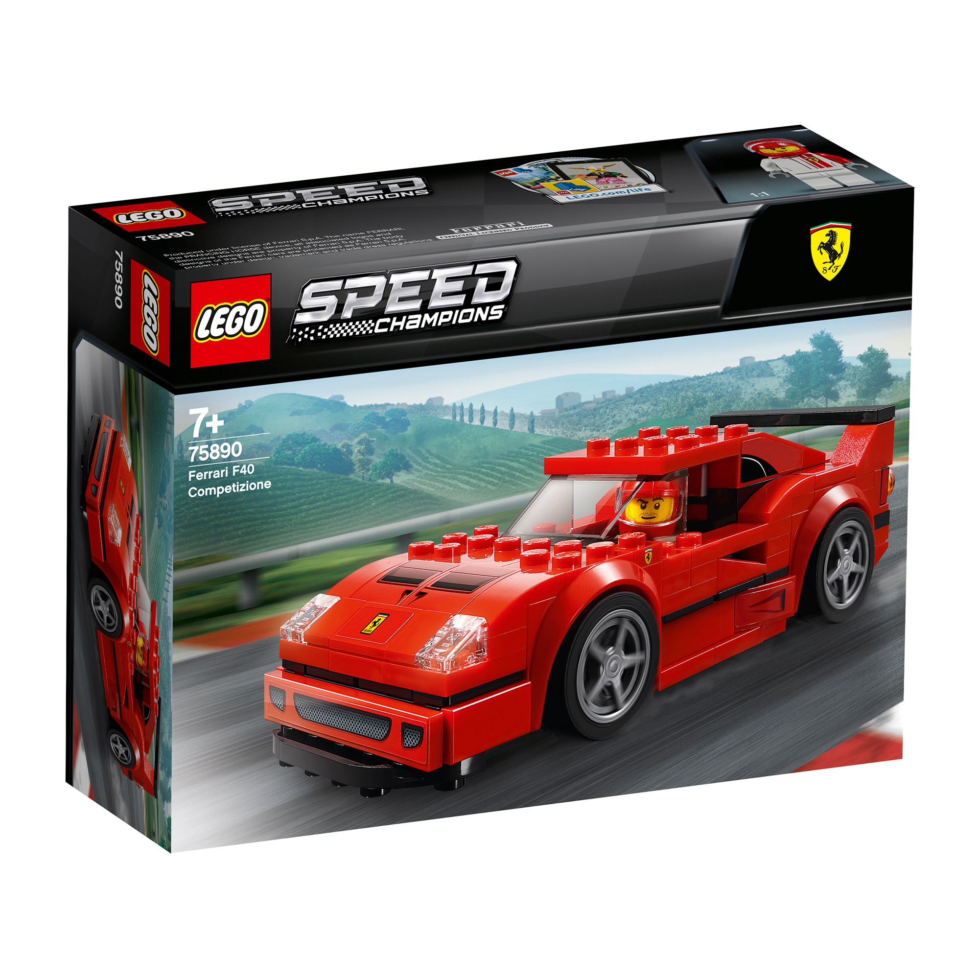Fotografie LEGO Speed Champions - Ferrari F40 Competizione 75890