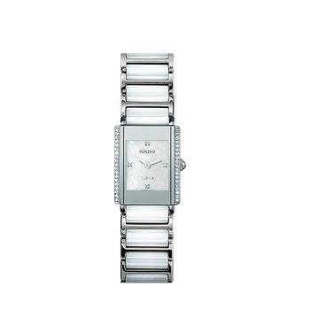 Ceas dama elegant, Rado, Quartz, 24.8 x 19.2 mm, Integral, R20.430.90.2