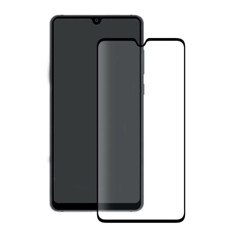 Fotografie Folie de protectie Eiger Sticla 3D Edge to Edge pentru Huawei Mate 20, Negru