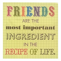 Magnet de frigider Friends