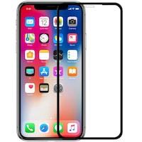 """Стъклен протектор 5D Full Cover за IPhone XR (6,1""""), Черен"""