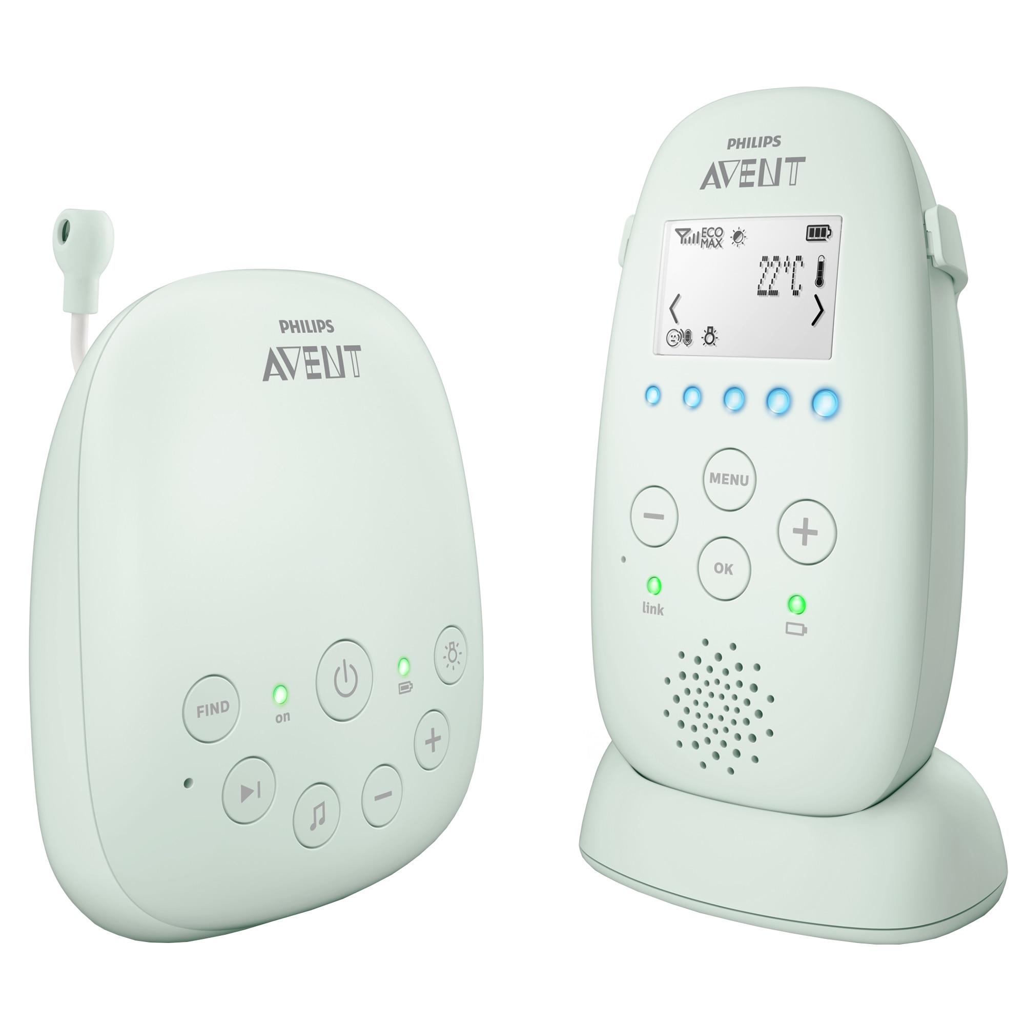 Fotografie Sistem DECT de monitorizare Philips Avent SCD721/26