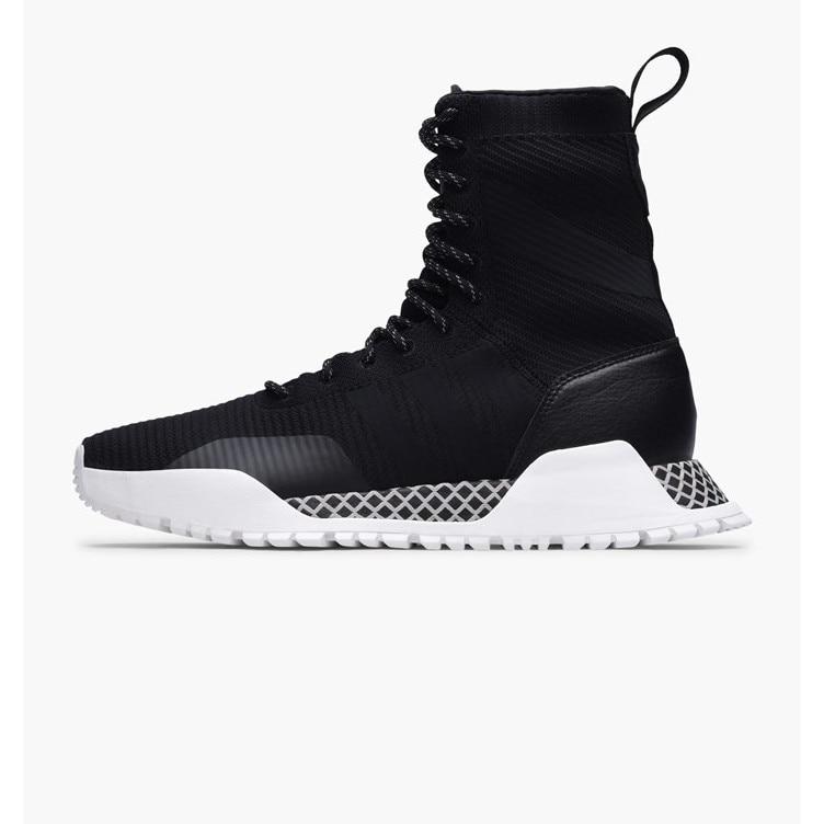 escarabajo Lada Confidencial  Pantofi sport Adidas AF 1.3 Primeknit Boots BY9781, negru/alb, 41 1/3 -  eMAG.ro