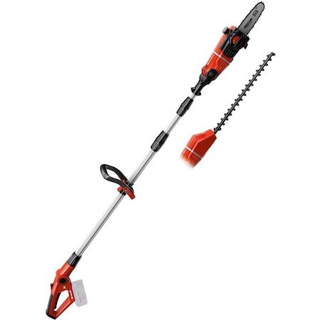 Акумулаторен трион и градинска ножица Einhell Power-X-Change GE-HC 18 LI T за клони и жив плет, 1700 об/мин, Без акумулатор, Без зарядни у-во