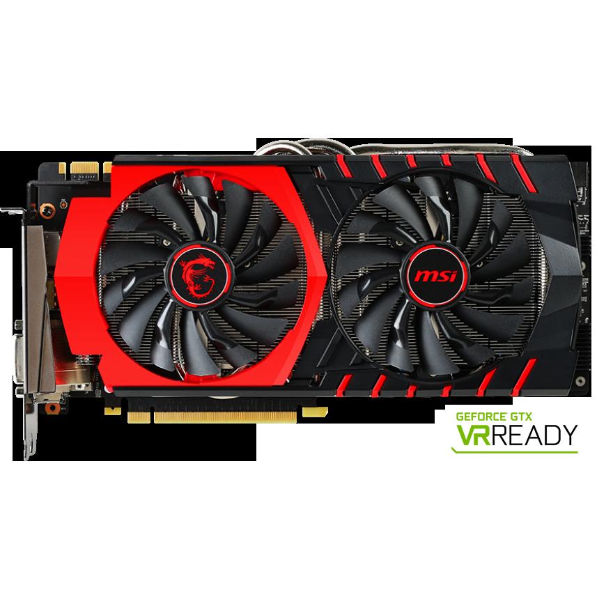 Fotografie Placa video MSI GeForce® GTX 980 Ti GAMING, 6GB GDDR5, 384-bit