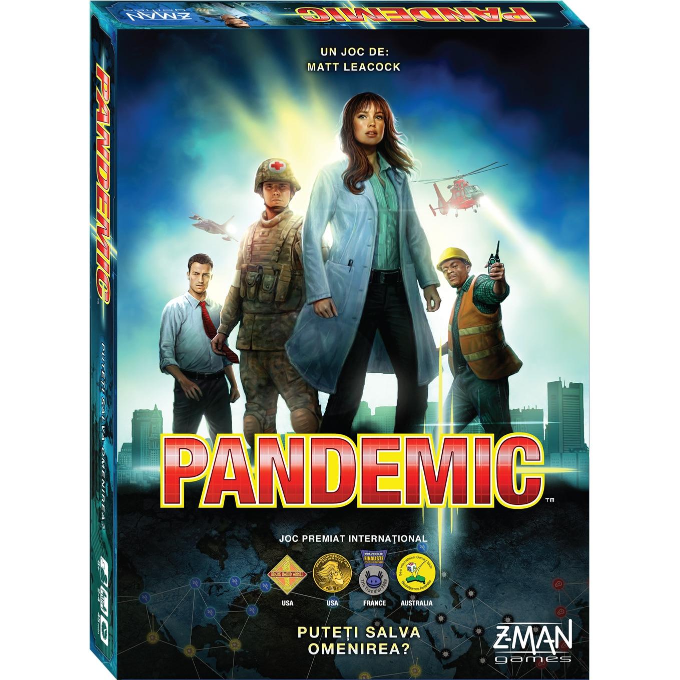 Fotografie Joc Asmodee - Pandemic