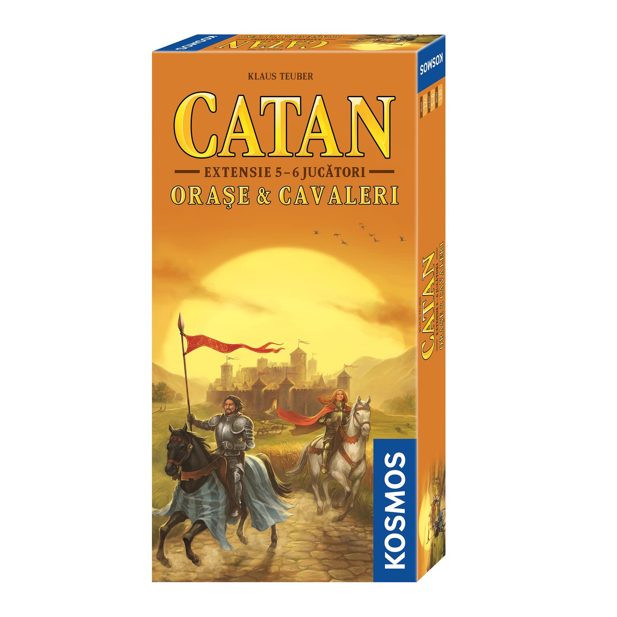Fotografie Joc de societate Kosmos Colonistii din Catan, Orase&Cavaleri extensie 5/6 jucatori