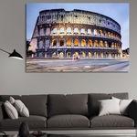 Пано от канава - Колизеумът, Рим от Pano bg, Цяла картина, канава, размер S - 90 х 60 см