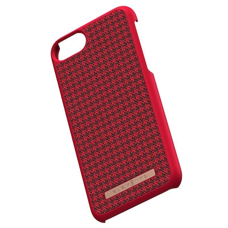 Carcasa de protectie Nordic Elements, Idun, pentru iPhone 6 Plus / 6s Plus / 7 Plus / 8 Plus, Rosu