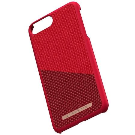 Carcasa de protectie Nordic Elements, Freja, pentru iPhone 6 Plus/ 6s Plus / 7 Plus / 8 Plus, Rosu