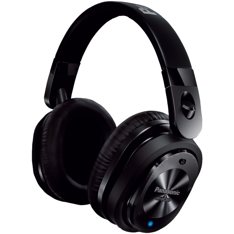 Fotografie Casti audio cu banda noise cancelling Panasonic RP-HC800E-K, Negru