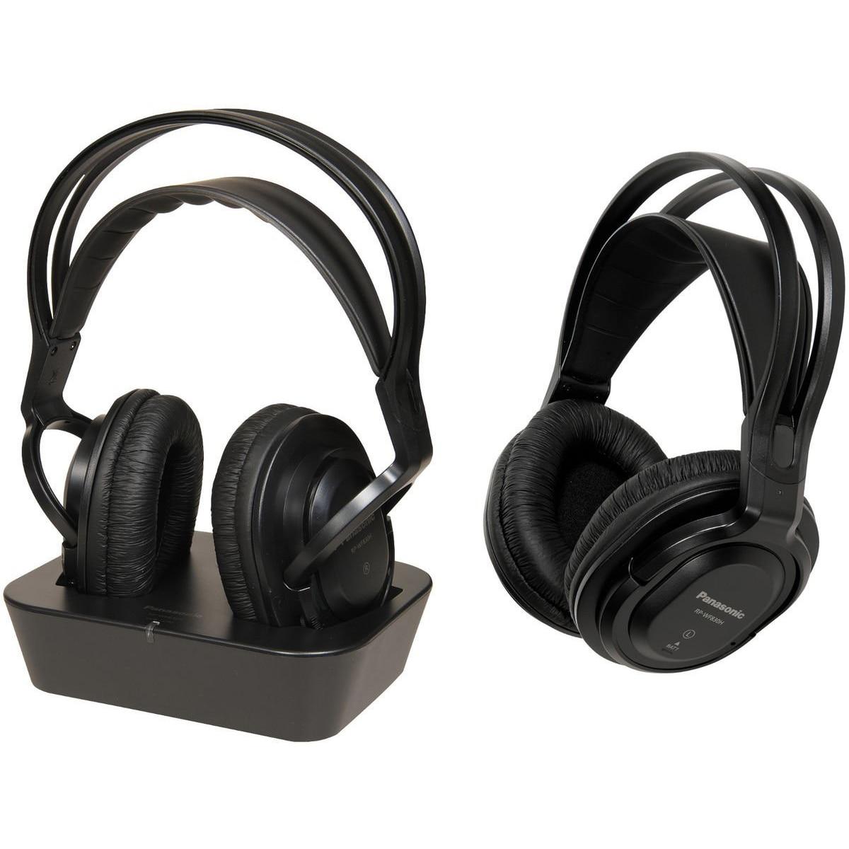 Fotografie Casti audio wireless cu banda Panasonic RP-WF830WE-K, Negru