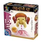 Креативна игра D-Toys, Комплект за създаване на кукла Моли
