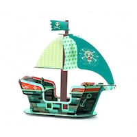Kalóz hajó 3D modell, Djeco