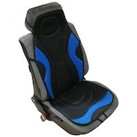 Univerzális, 2db-os ülésvédő szett, szövet - kék-fekete színű