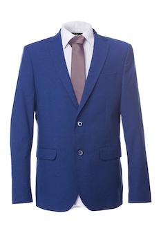 Kék színű, extra minőségű férfi zakó, 54-es méret