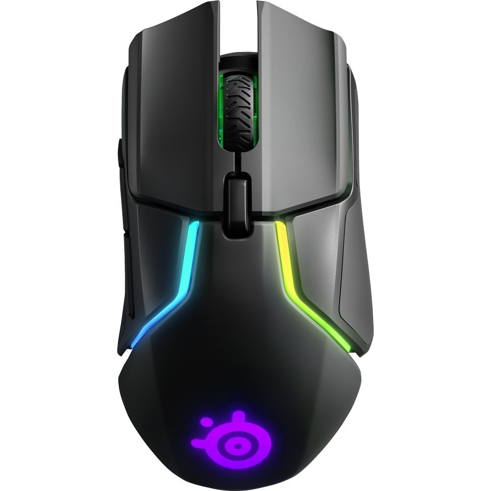 Fotografie Mouse gaming wireless SteelSeries Rival 650, Negru