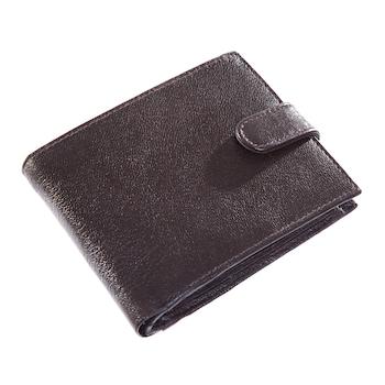 Barna színű, természetes bőrből készült elegáns férfi pénztárca