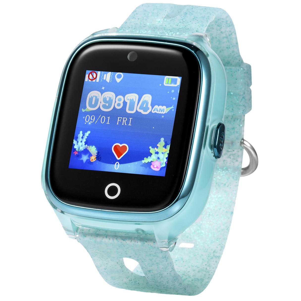 Fotografie Ceas smartwatch copii Wonlex KT01, GPS, Functie telefon, SIM prepay cadou, Verde