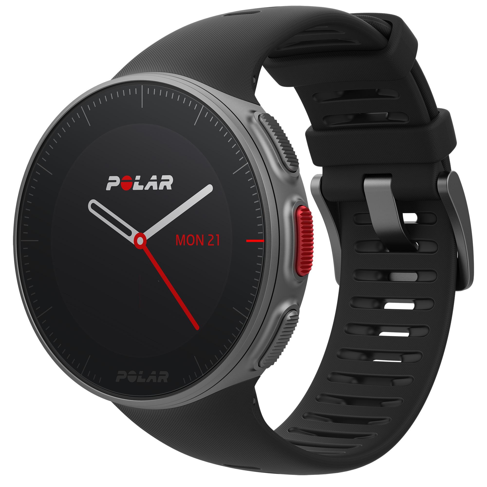Fotografie Ceas smartwatch Polar Vantage V, GPS, Senzor H10 HR, Black