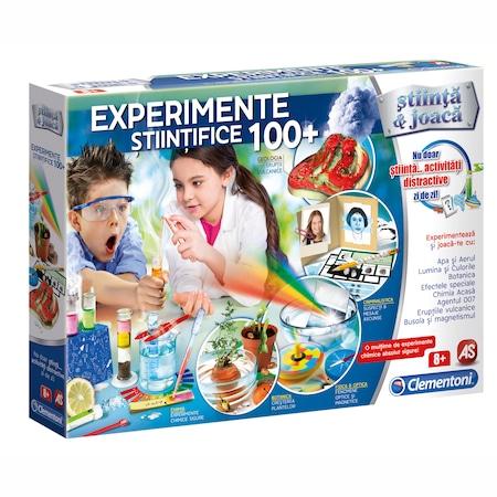 Joc Clementoni Stiinta si joaca, 100 experimente