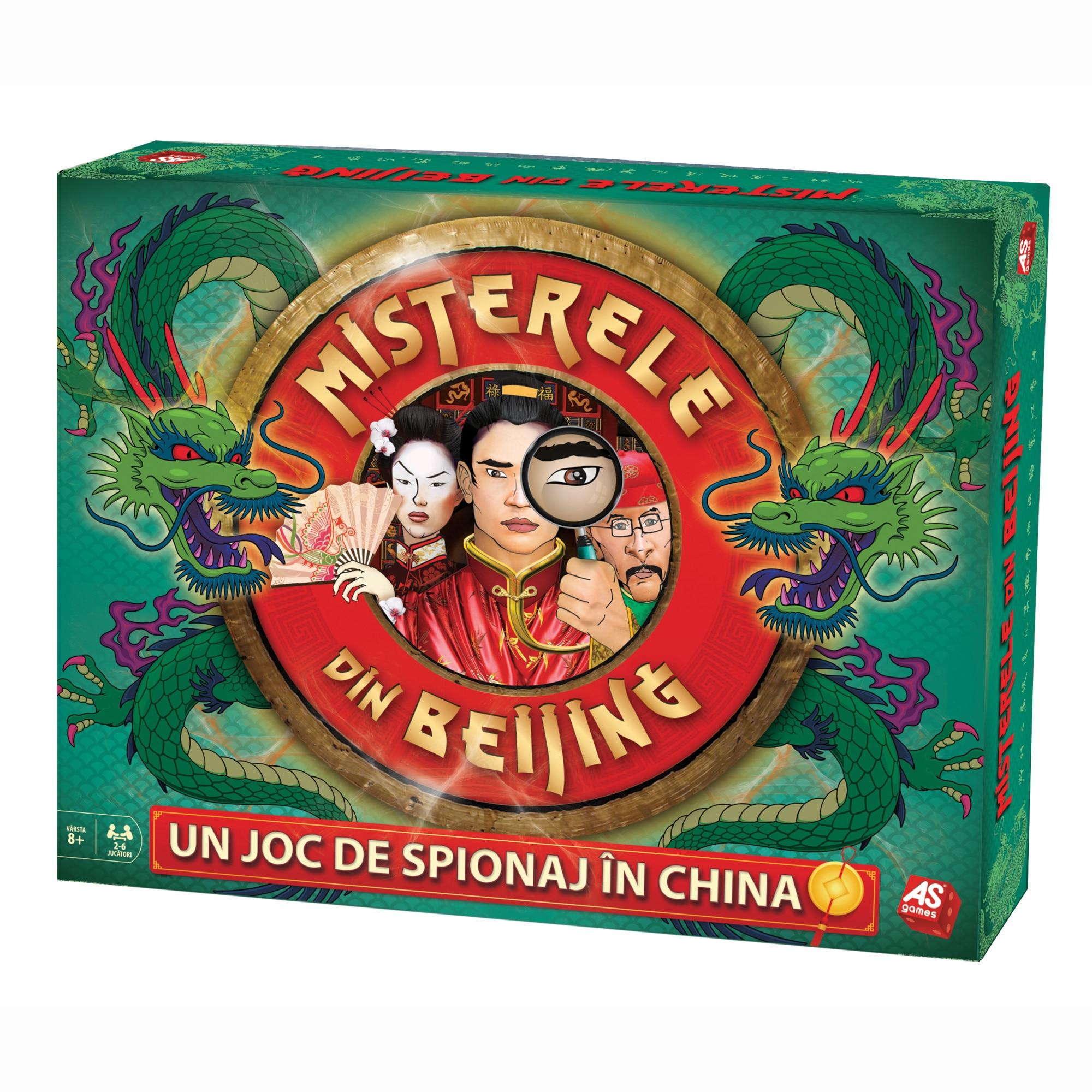 Fotografie Joc As Games, Misterele din Beijing