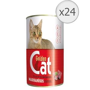 Hrana umeda pentru pisici Golden Cat, Vita, 24x415g