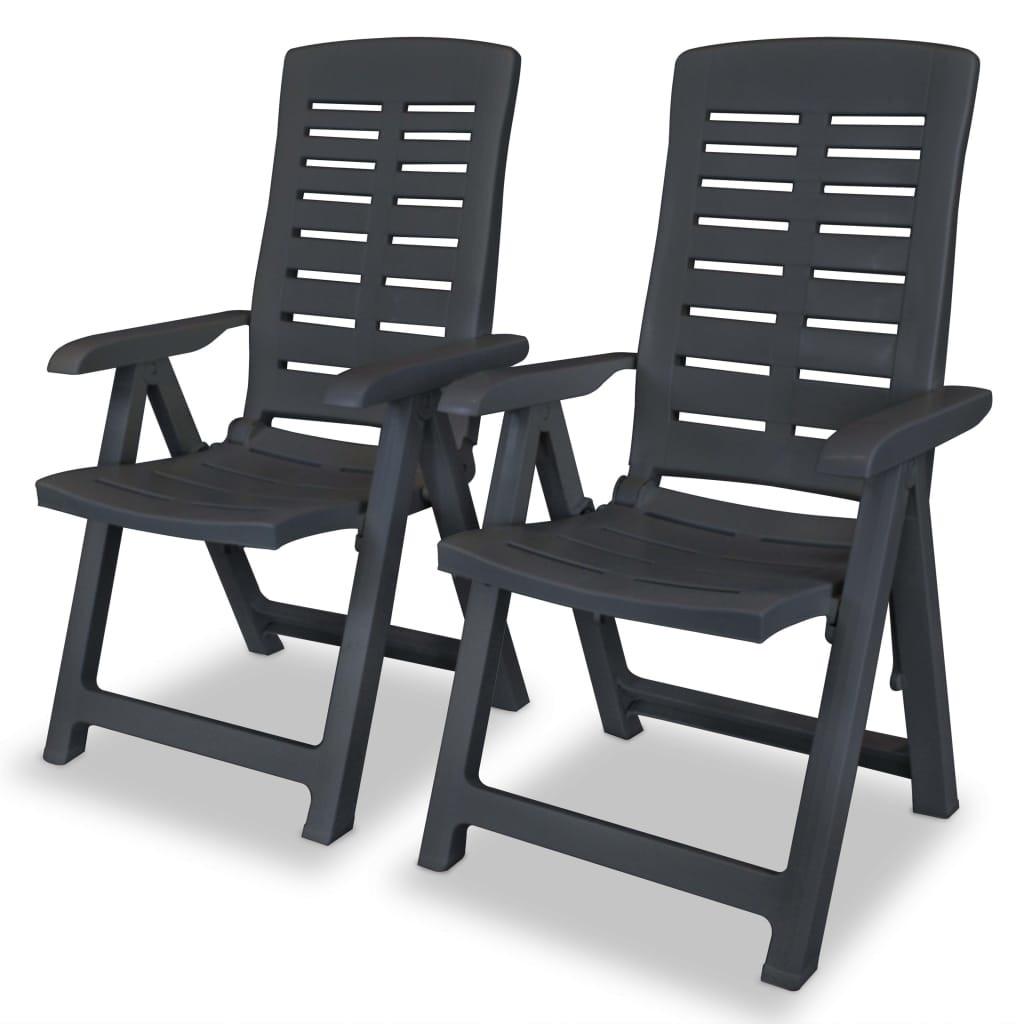 7 pozíciós szék antracit