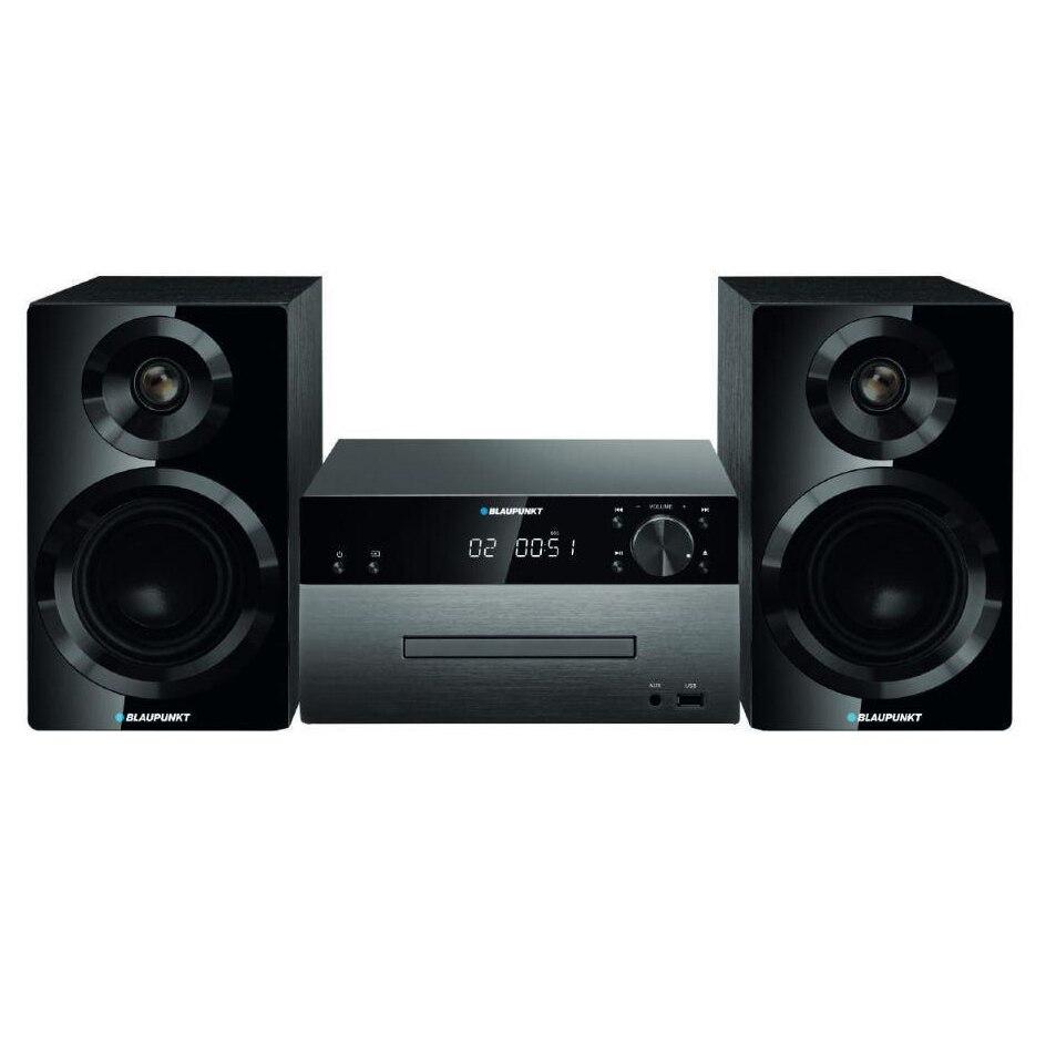 Fotografie Microsistem Blaupunkt MS50BT, CD, MP3, USB, bluetooth, negru