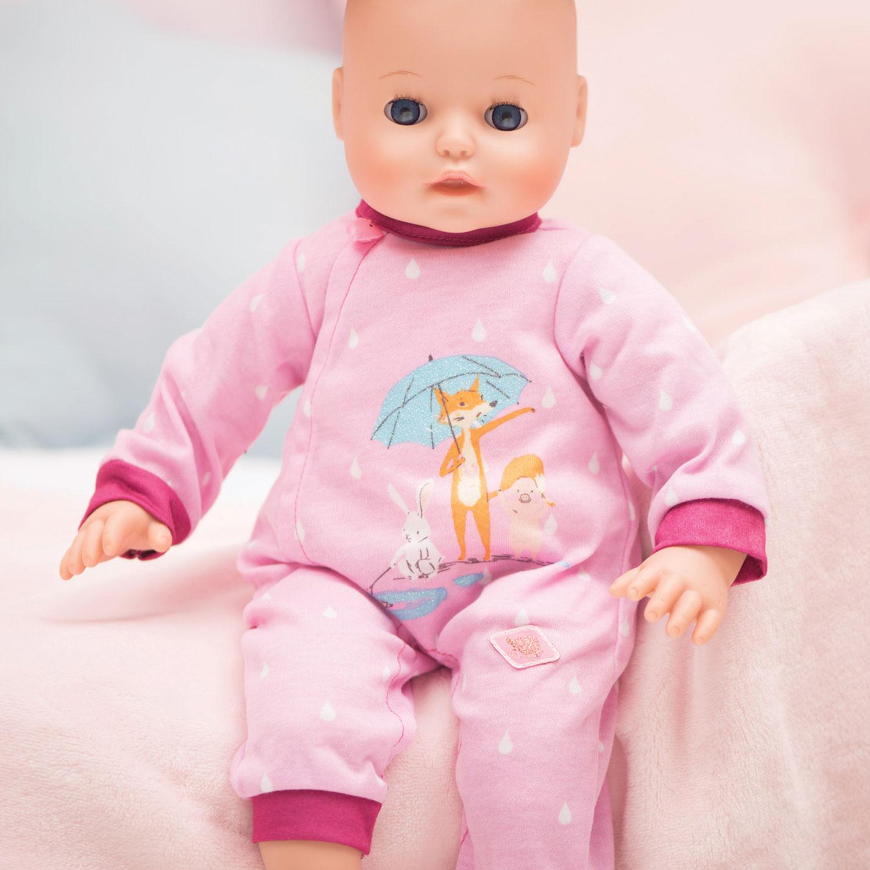 Rókás baba rugdalózó, 43 cm-es babára DWKyMT