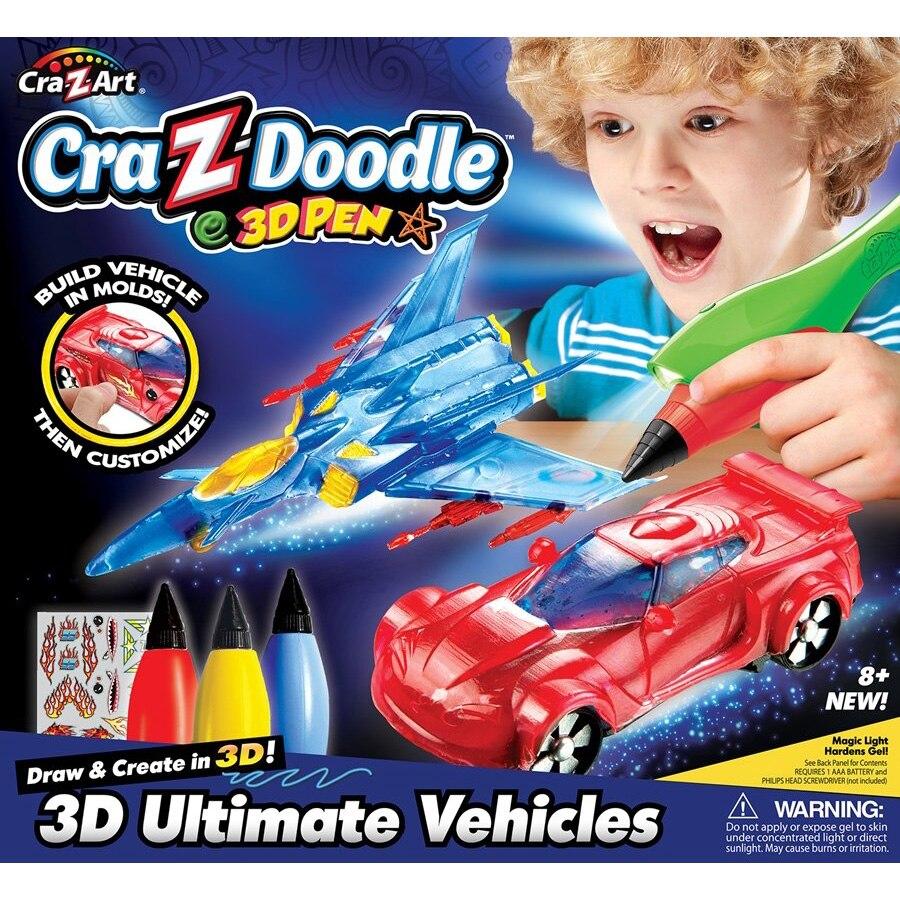 Fotografie Set creativ Cra-z-art, Creion 3D Ultimate vehicles