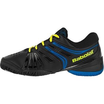 Детски тенис обувки Babolat V-PRO Junior Style, черно и синьо, номер 33