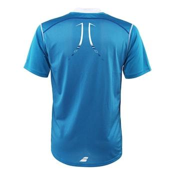 Детска тениска Babolat Match Performance Boy, синя, 128 см